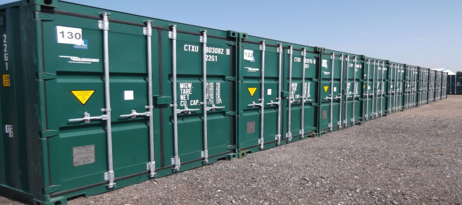 STORE-IT row of containers